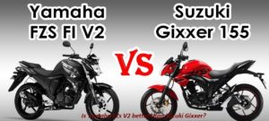 Is Yamaha FZs V2 better than Suzuki Gixxer?