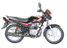 Bajaj CT 100 ES Black