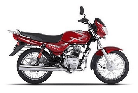 Bajaj CT 100 ES Red