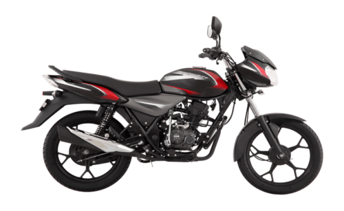 Bajaj Discover 110 Black Red