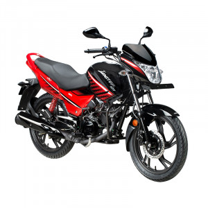 Hero Ignitor 125 Black with Red