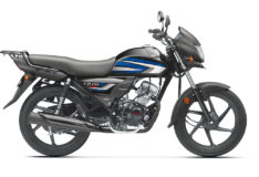 Honda CD110 Dream DX Black & Blue Bikeshikari
