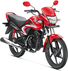 Honda Dream Yuga Red Bikeshikari