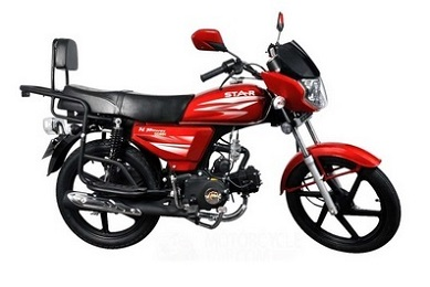 H Power Star 80 Red BikeShikari