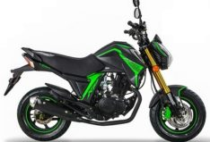 Lifan KP Mini 150 Black Green BikeShikari
