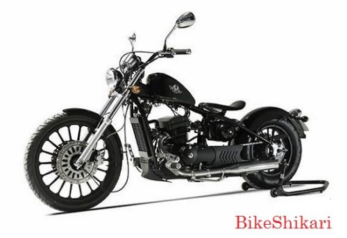 Regal Raptor Bobber Black BikeShikari
