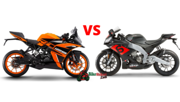KTM RC 125 Vs Aprilia RS4 125